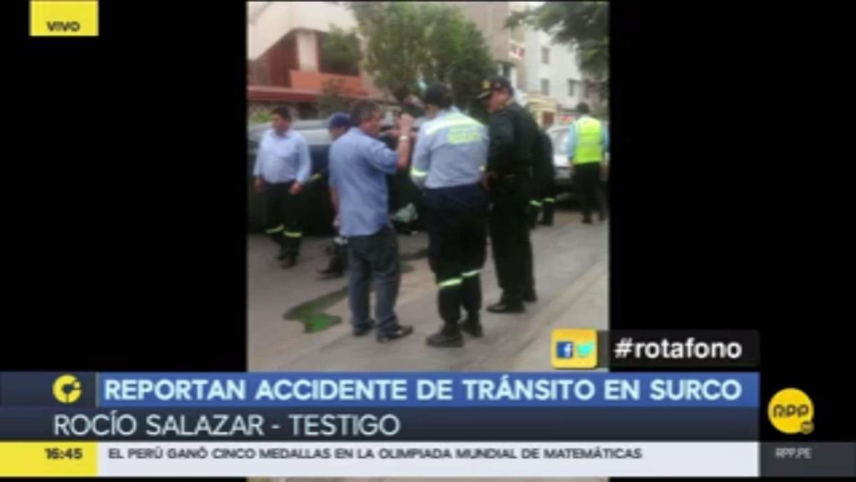 Testigo declaró que el chófer aparentaba estar en estado de ebriedad.