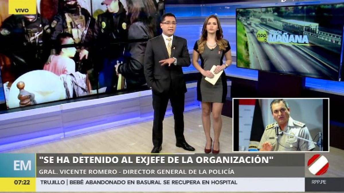 Vicente Romero aseguró que la Policía está detrás de otras organizaciones criminales que operan en las periferias de la capital.