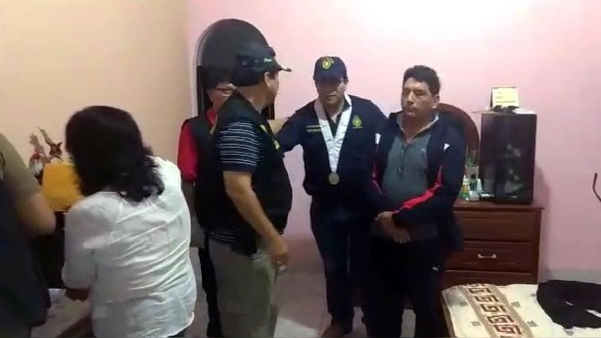 Alcalde de Tocache, David Bazán Arévalo fue detenido la madrugada del último martes.