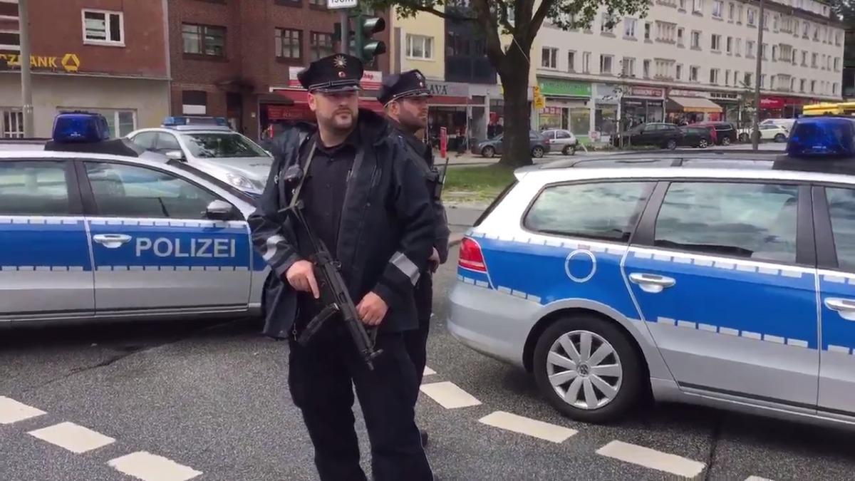 Un muerto y varios heridos en ataque con cuchillo en supermercado de Hamburgo