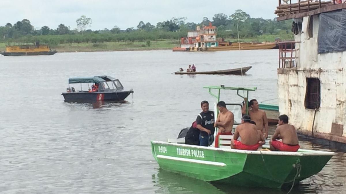 Cuatro personas desaparecidas en el río Itaya.