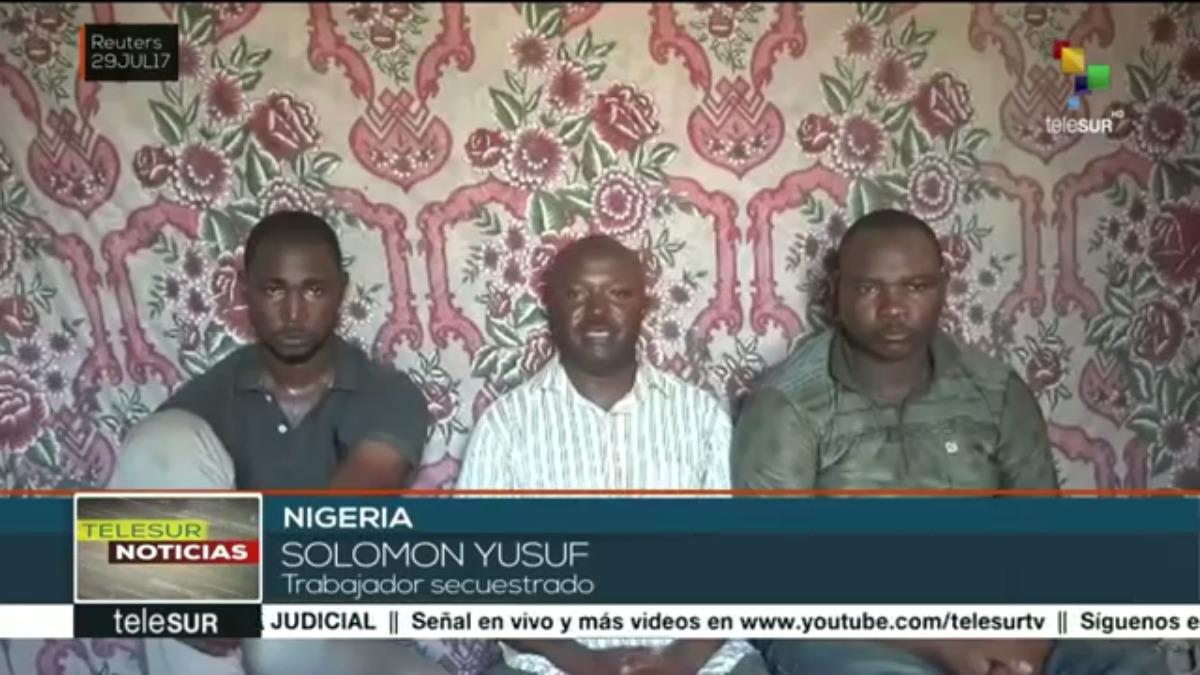 Los trabjadores de la empresa petrolera aparecieron en un video pidiendo al Gobierno que negocie.