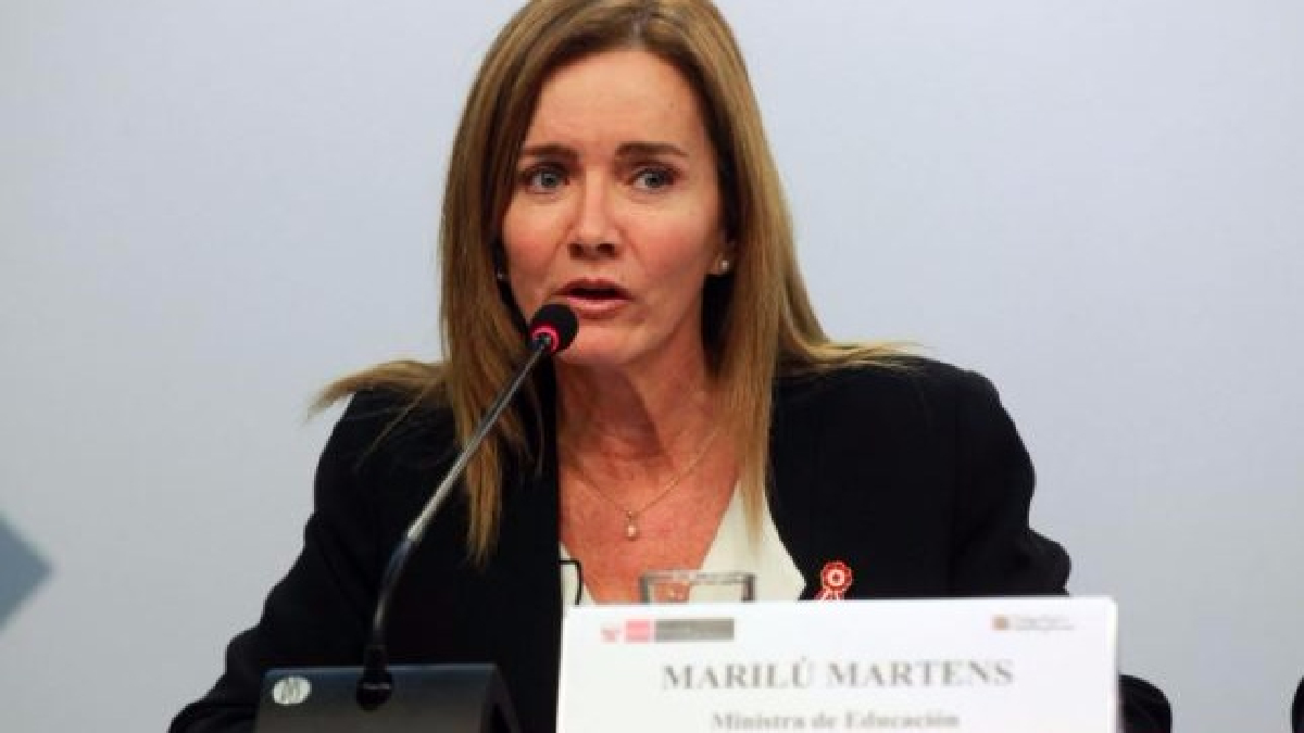 La ministra de Educación se pronunció sobre la denuncia del diario Exitosa.