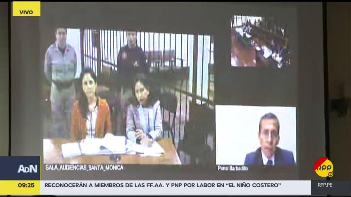 Tanto Ollanta Humala como Nadine Heredia están atentos a la apelación a través de videoconferencia.