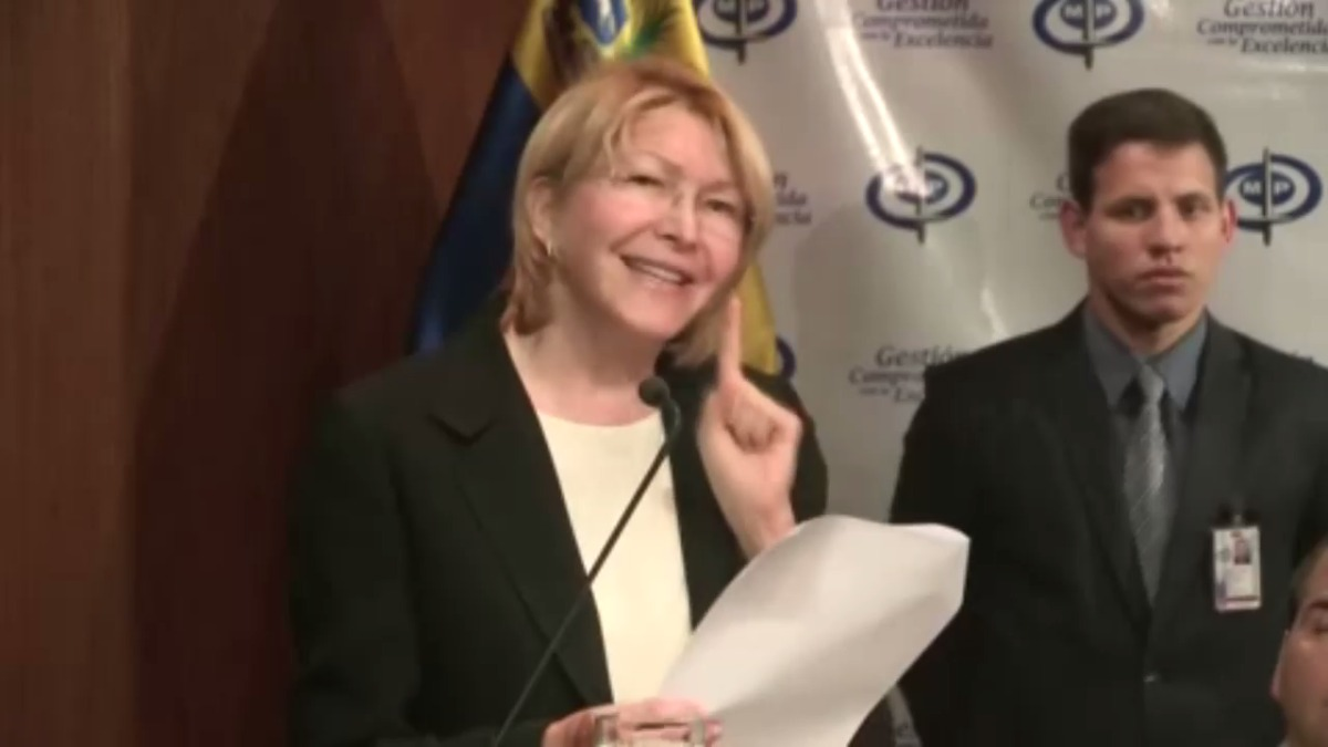 La fiscal general Luisa Ortega Díaz se comprometió a investigar este supuesto caso de corrupción de forma prioritaria.