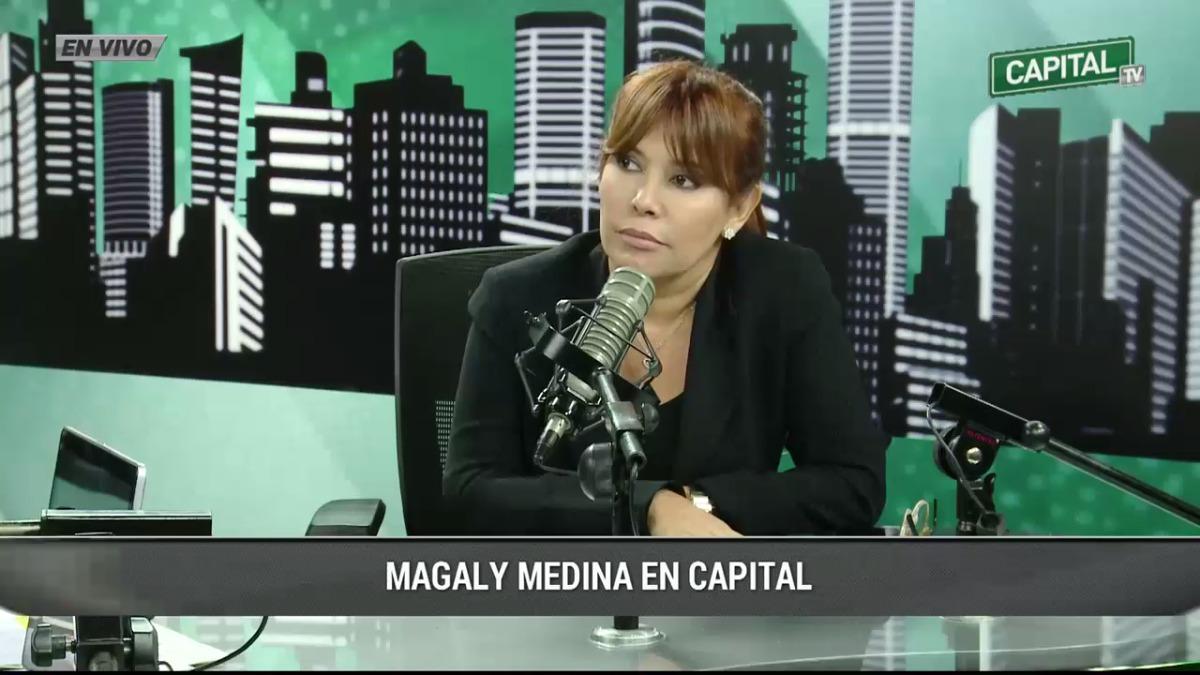 Magaly Medina en Radio Capital.