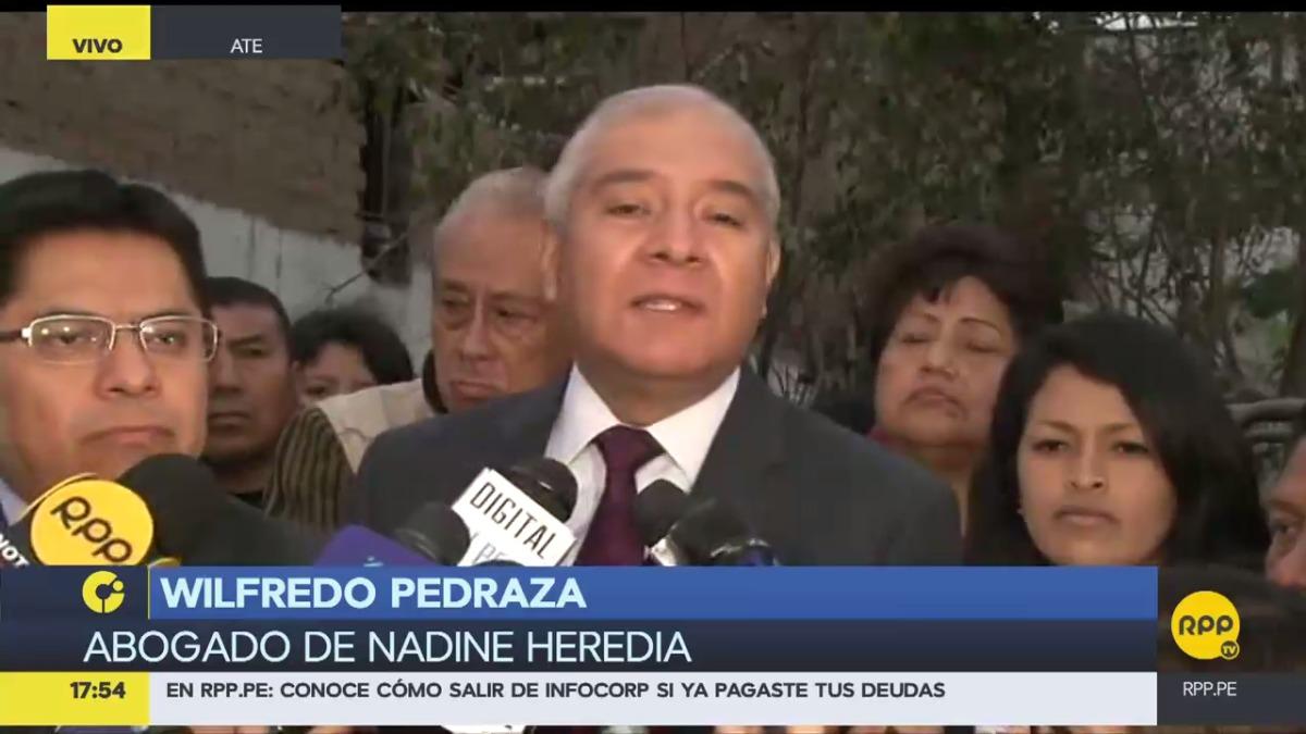 El abogado de Nadine Heredia visitó hoy al expresidente Humala hoy en la Diroes.