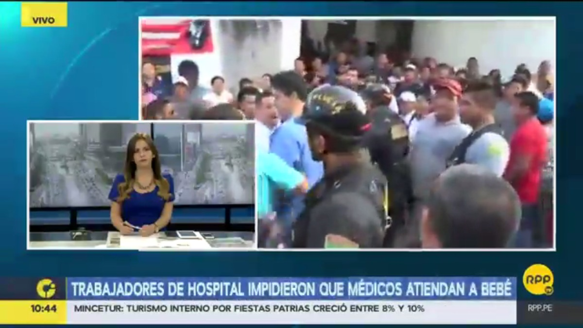 RPP se comunicó con Sofía Ruíz, vocera de los trabajadores en huelga. Acusó al director del hospital por el fallecimiento del menor.