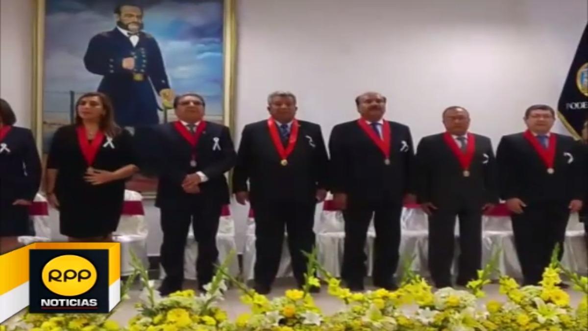 Este pronunciamiento lo realizó durante la ceremonia por el Día del Juez en Piura.