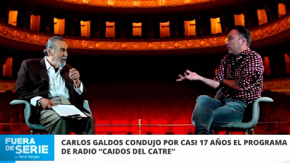 Carlos Galdós condujo por casi 17 años el programa de