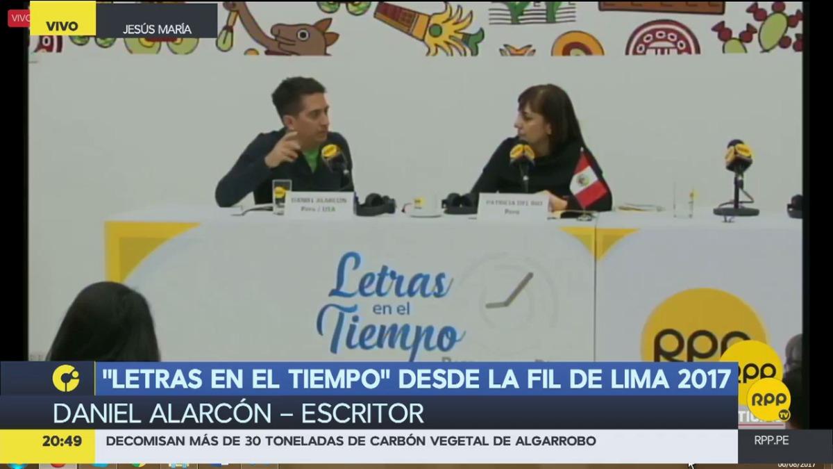 Daniel Alarcón en RPP Noticias.