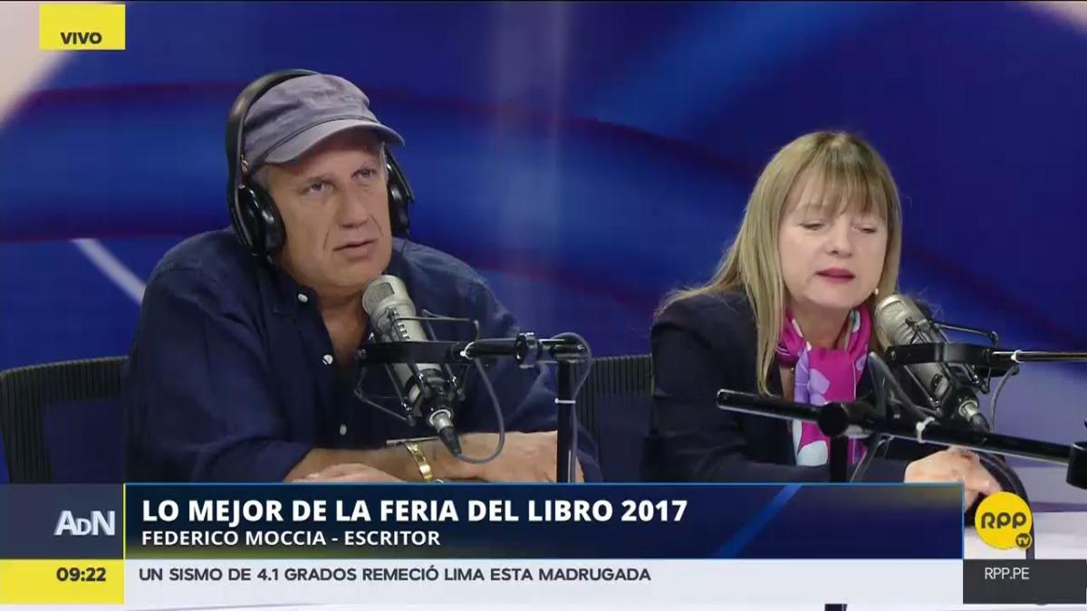 Federico Moccia, autor de las famosas novelas Tres metros sobre el cielo y Perdona si te llamo amor, presenta su nuevo libro Tres veces tú.