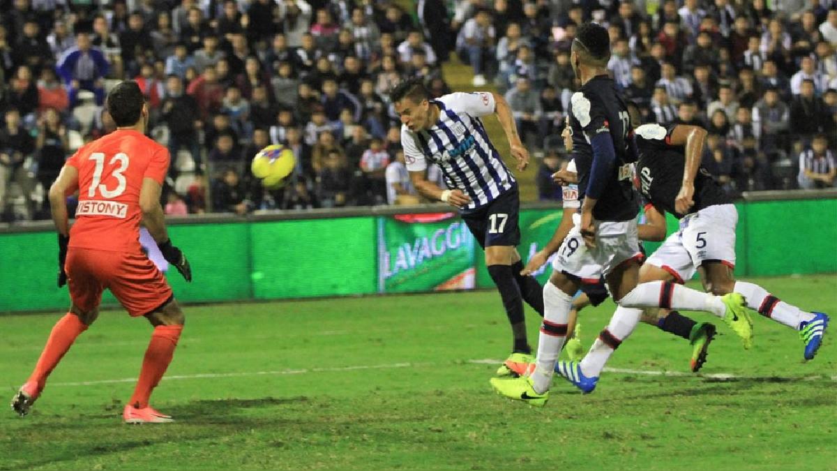 Gonzalo Godoy anotó dos goles en el duelo ante San Martín.