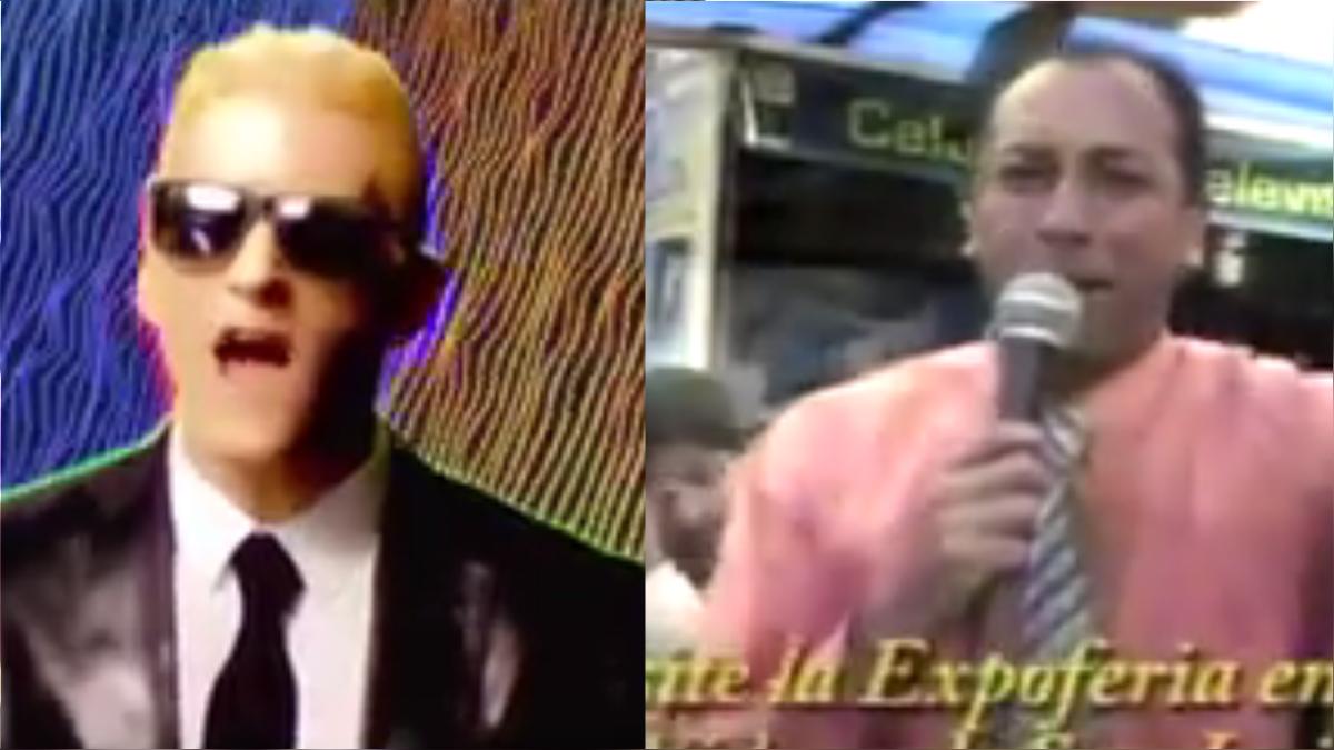 El conductor de la Teleferia tuvo un 'versus' con el popular rapero Eminem