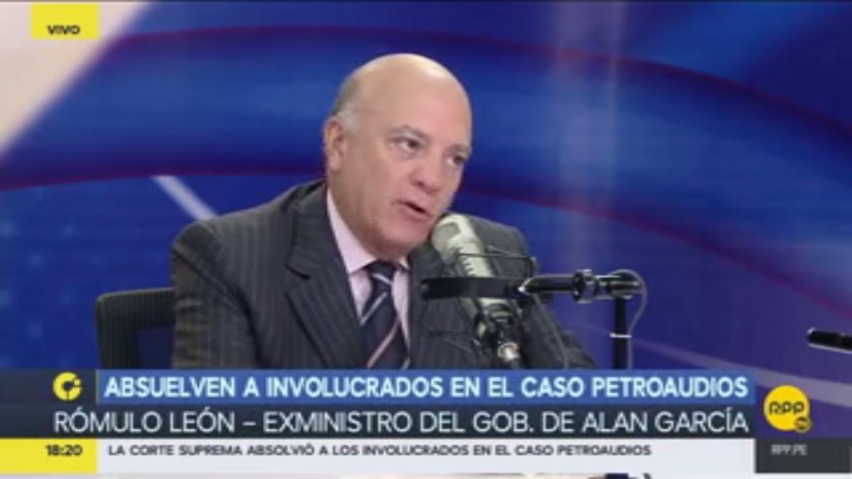 Rómulo León en RPP Noticias