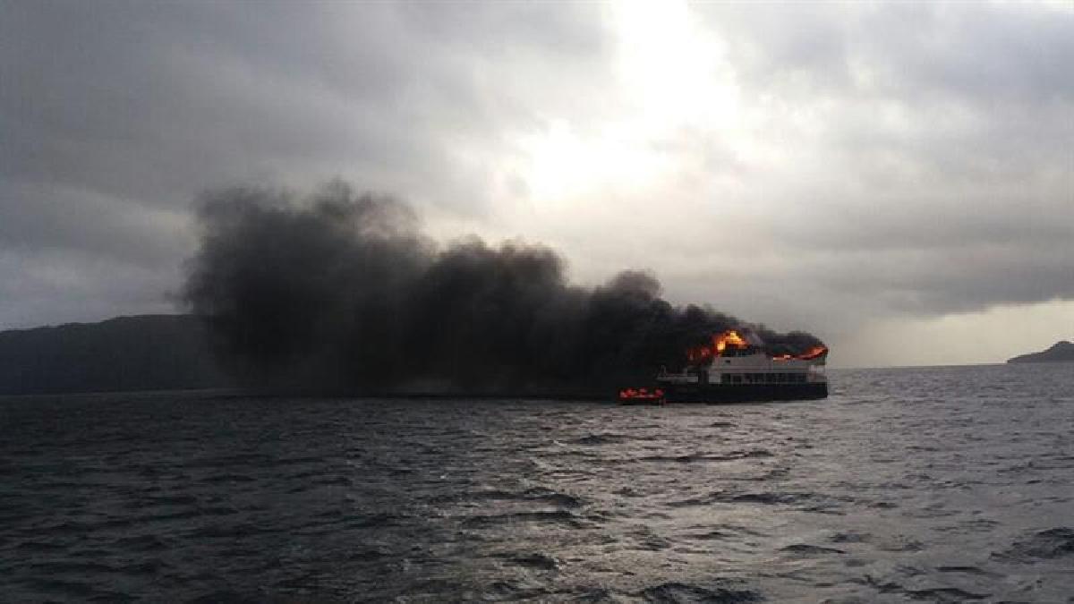 Se sospecha que el incendio ocurrió debido a fallas técnicas del motor.