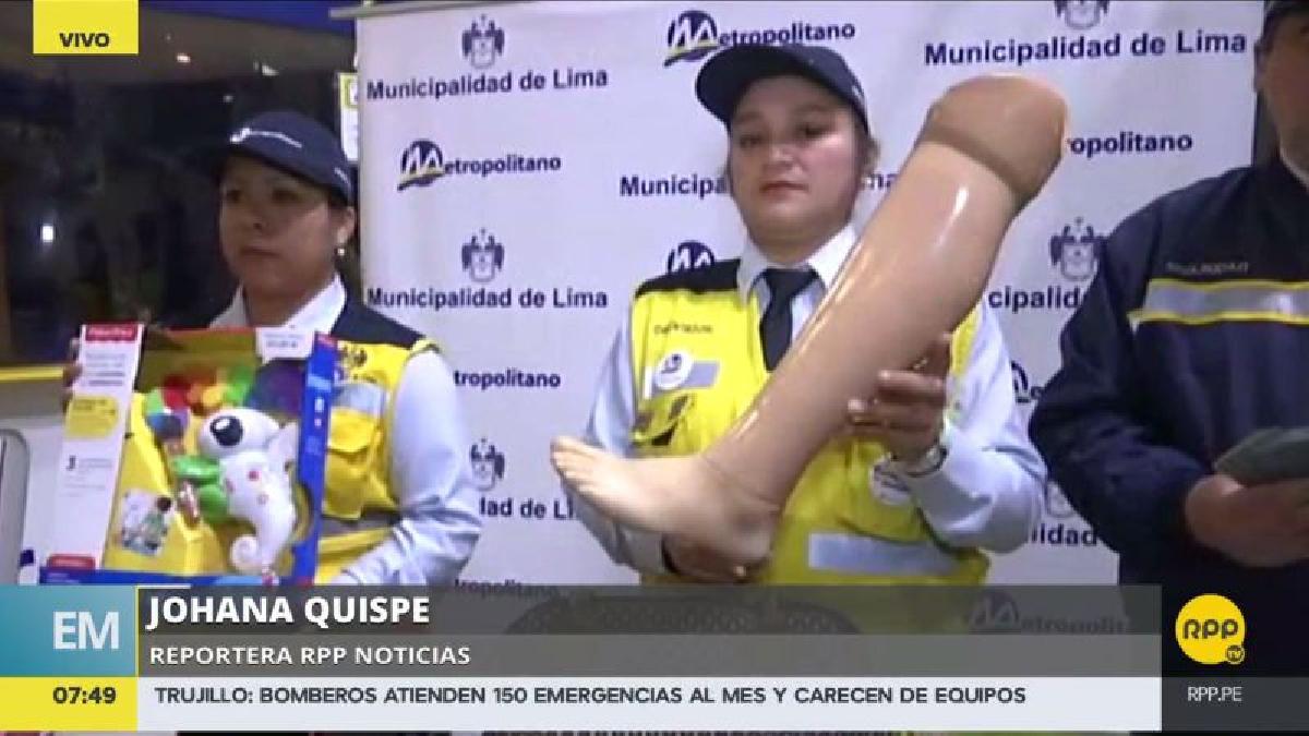 Lo más curioso que han dejado olvidado en el Metropolitano es una pierna ortopédica.