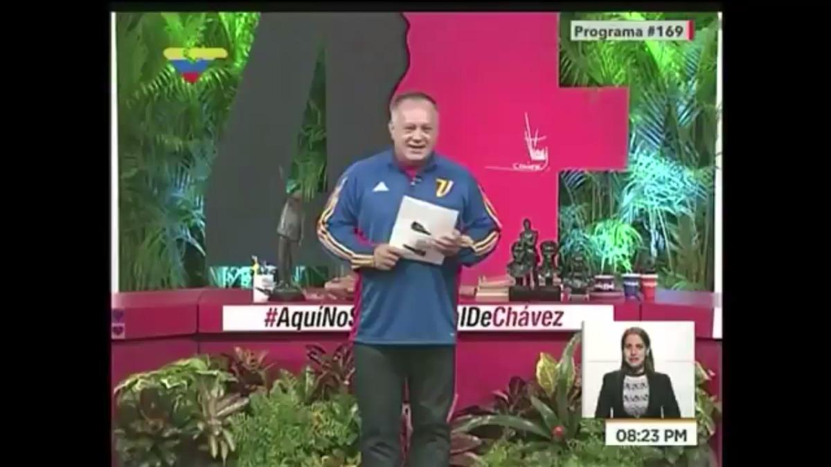Diosdado Cabello es conocido como el segundo hombre fuerte de Venezuela detrás del presidente Nicolás Maduro.