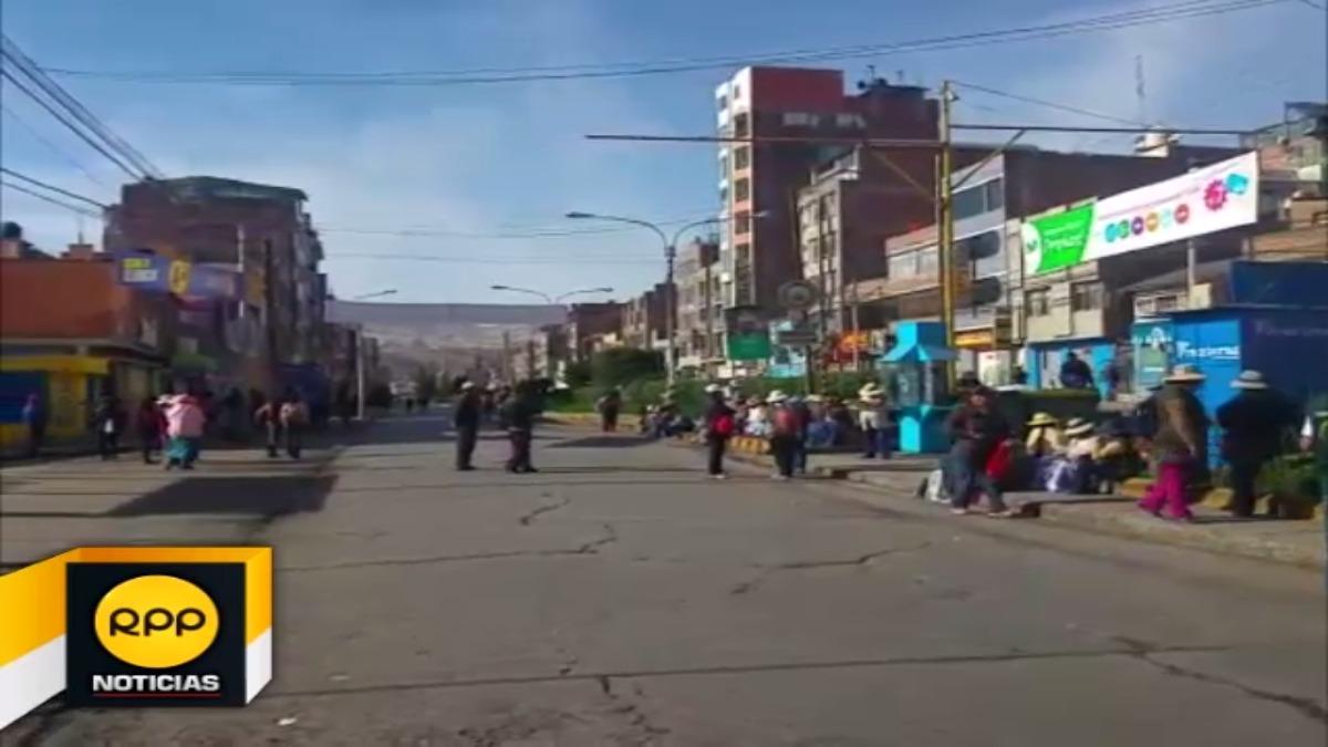 Paro preventivo de 24 horas en Puno.