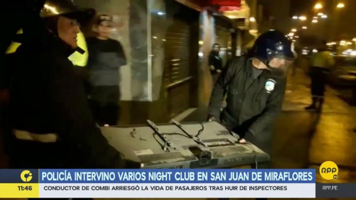 Embargan A Varios Night Clubs Morosos De San Juan De Miraflores # Muebles San Juan Lurigancho