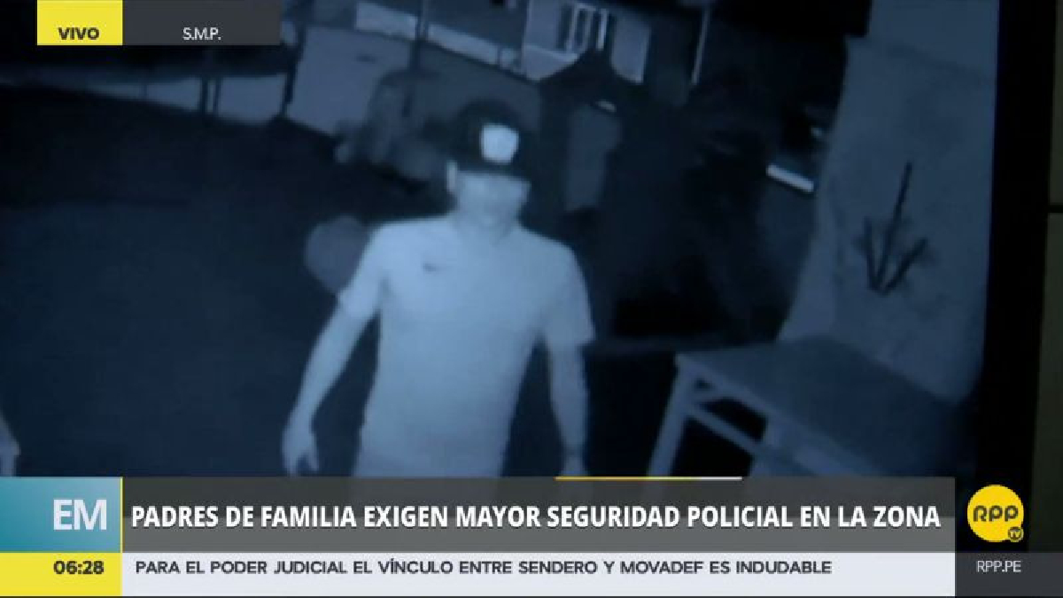 Esta es la segunda guardería asaltada en los últimos días, luego del robo a un establecimiento en el Callao.