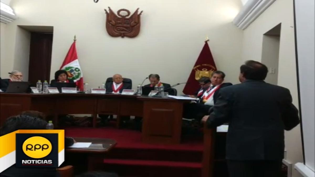 Desde Arequipa, ambas partes escucharon los informes respecto a esta ley, la cual tendrá respuesta en 30 días.