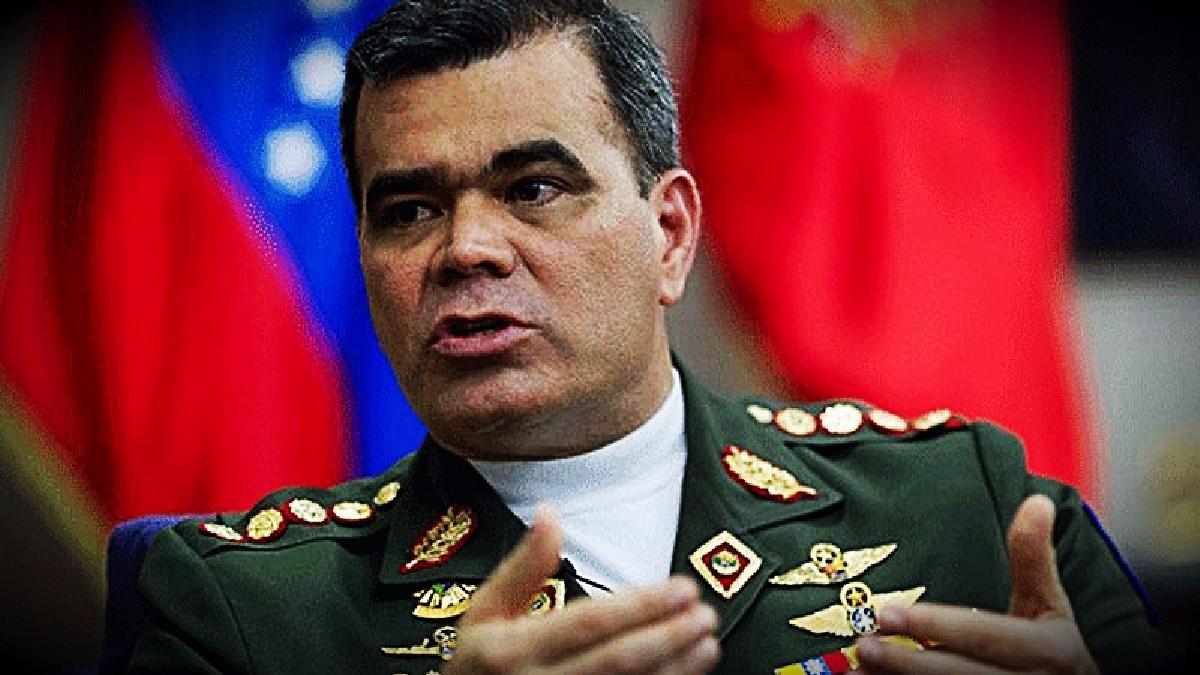 El ministro de Defensa venezolano dijo que defendería la sobernía de su país.