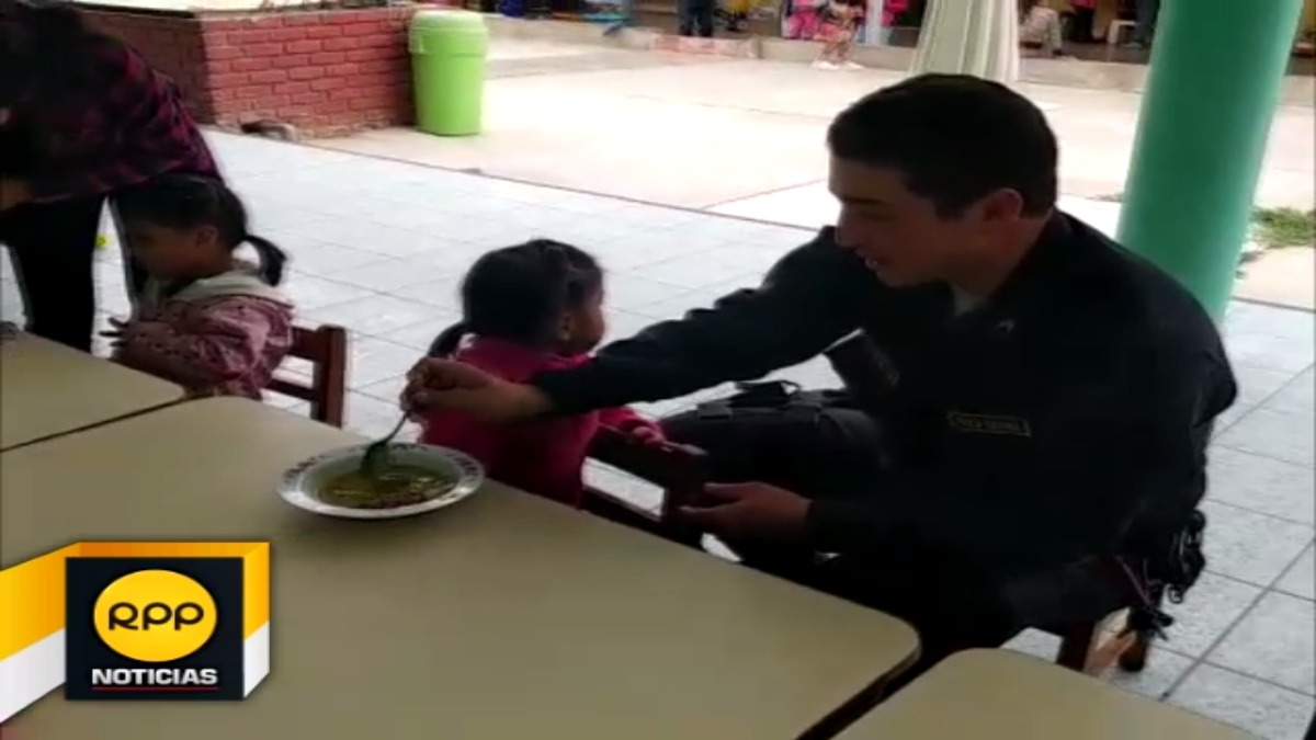 Policias llegaron a albergue de Ferreñafe