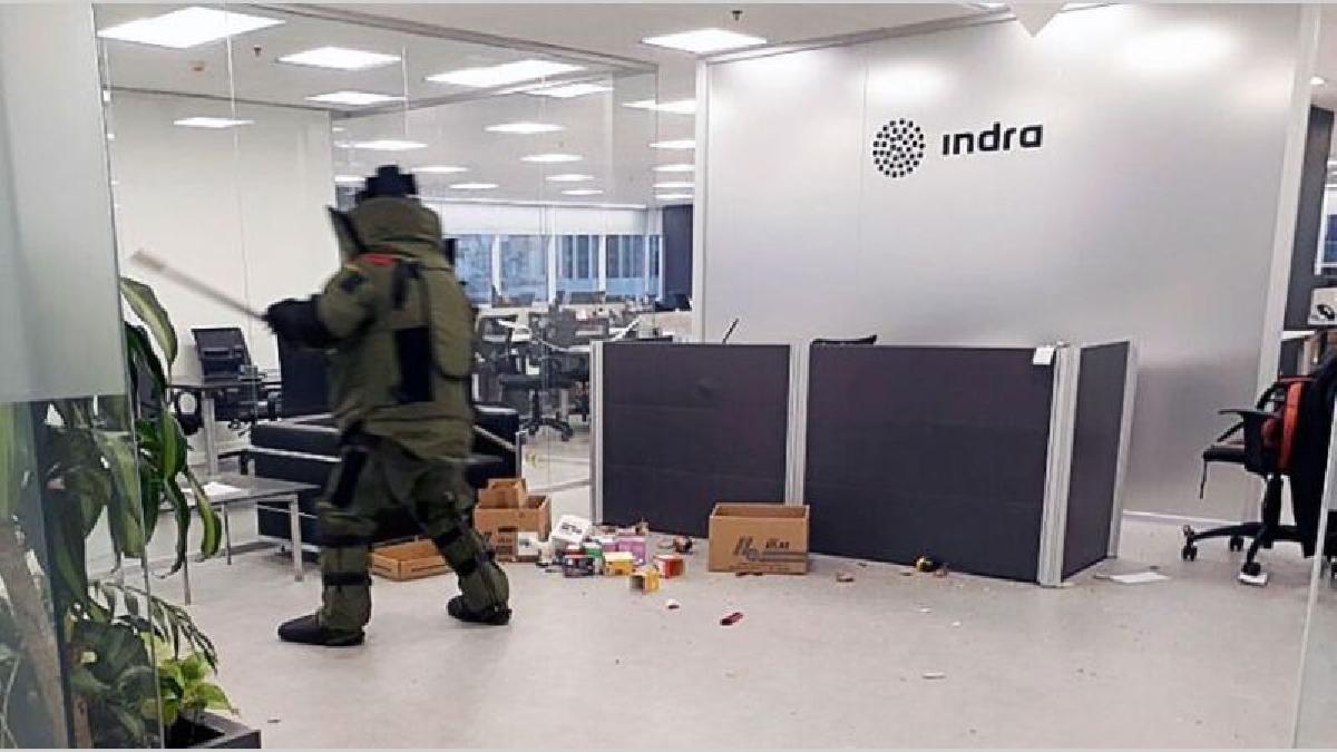 En el atentado resultaron heridas dos personas, ambas trabajadoras de la compañía española.