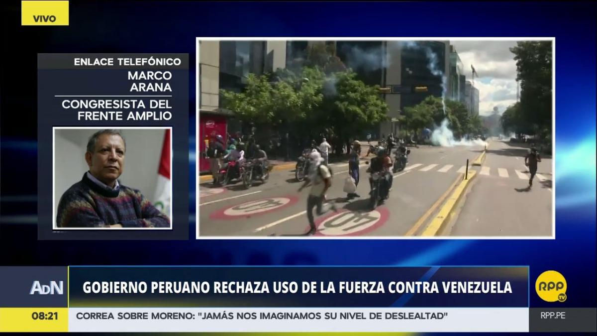 El Gobierno de Perú expulsó al embajador de Venezuela en Perú.