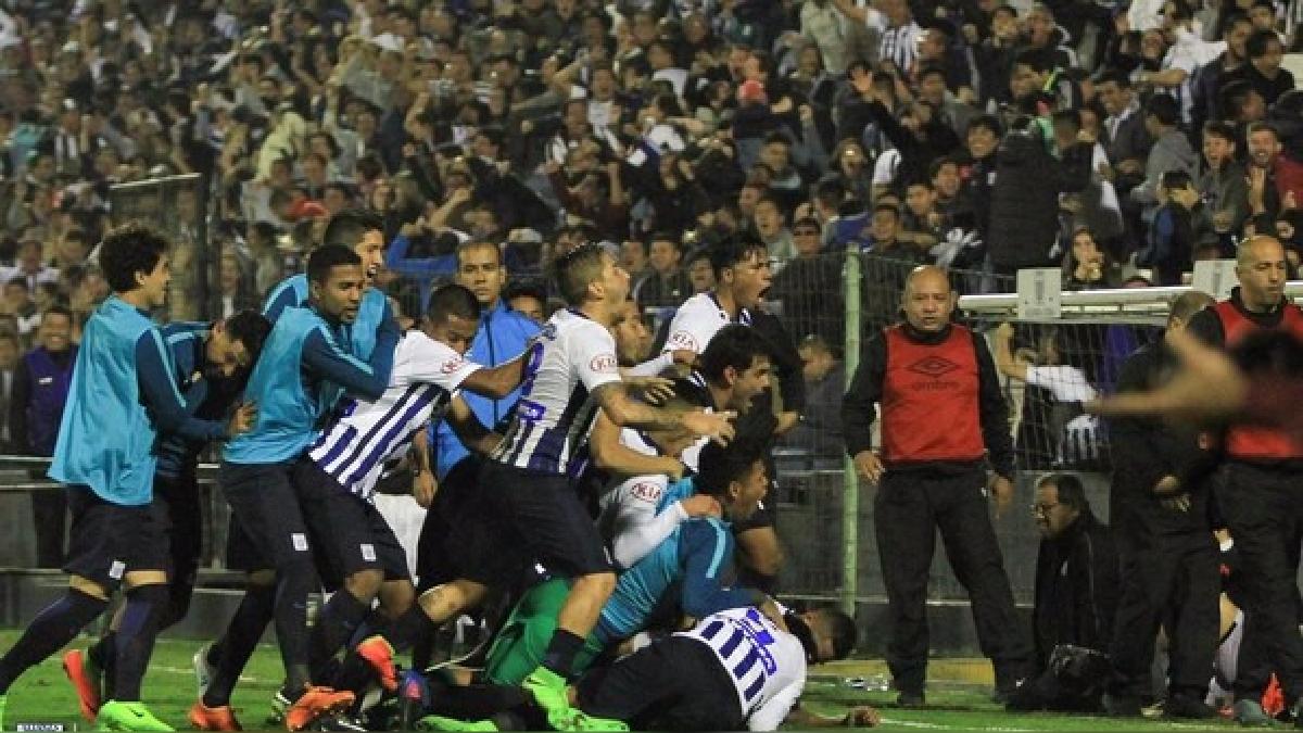 Alianza Lima se consagró campeón del Torneo Apertura.