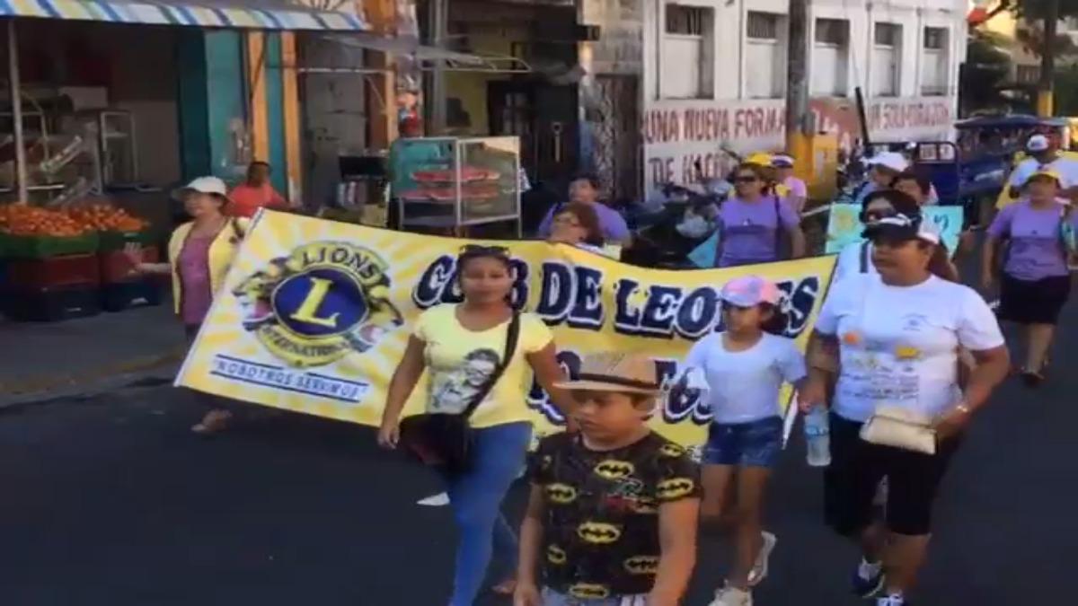 Marcha Ni Una Menos en Iquitos.