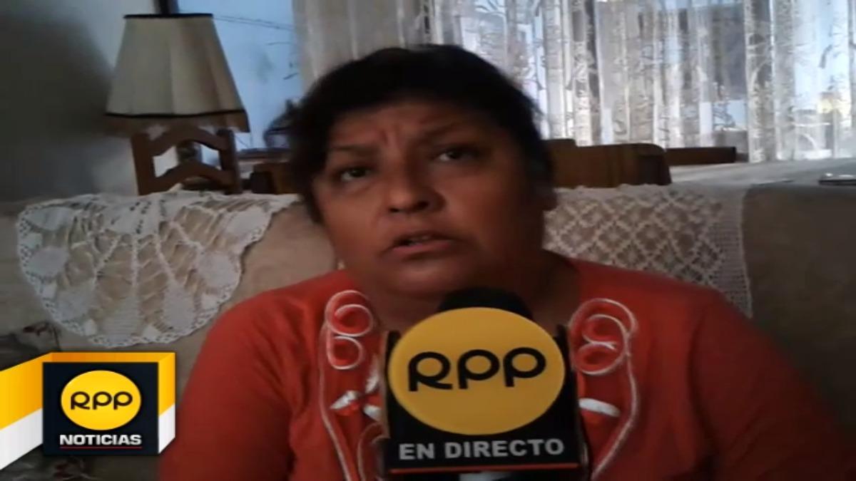 Tatiana Mendoza, hermana del médico Oscar Miguel Mendoza Vargas, pidió que la Policía Nacional, encuentre al gerente de la empresa