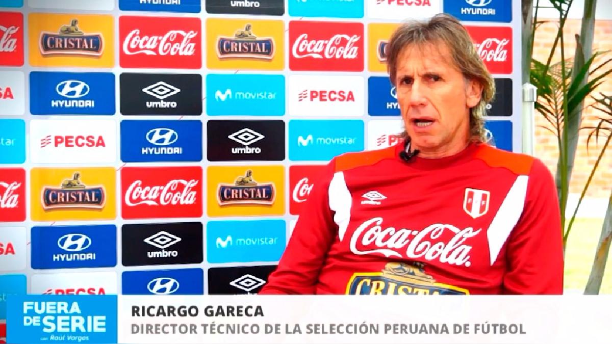 Ricardo Gareca jugó 118 partidos, hizo 57 goles, fue finalista de tres copas libertadores, ganó dos títulos.