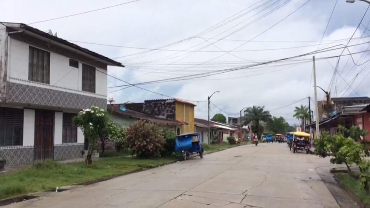 La lluvia calmó en Iquitos, pero el cielo aún continúa nuboso.