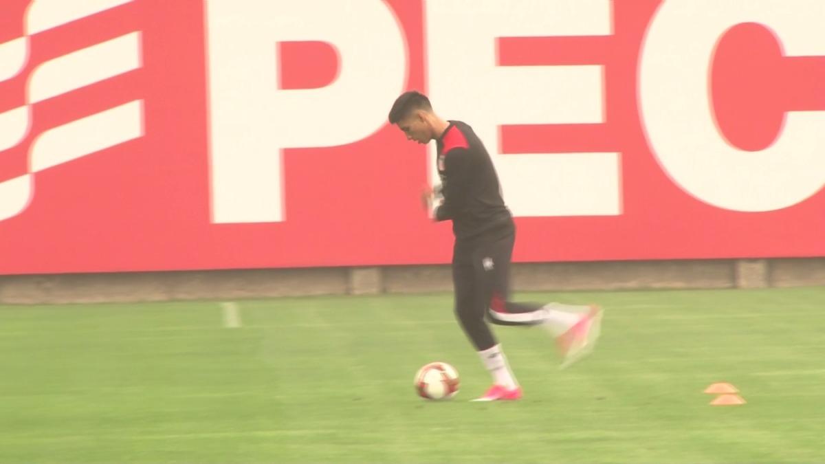 Los mejores momentos del segundo día de entrenamiento de la Selección Peruana.