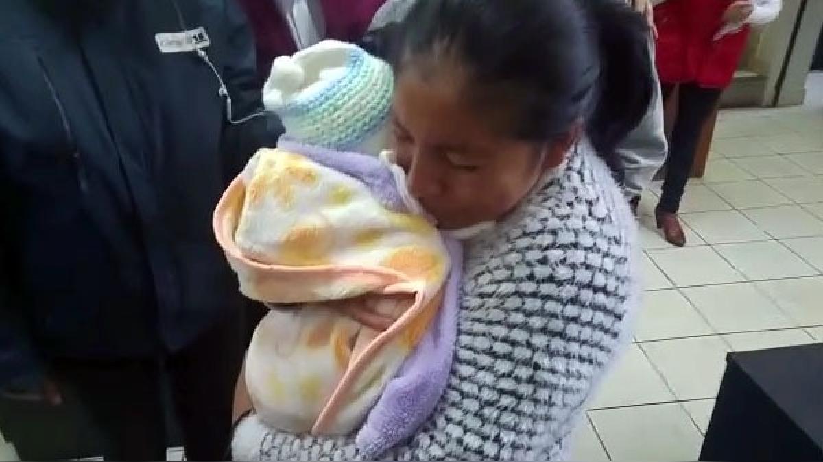 Daysi Montalvo Chapoñán, madre de la bebé que fue secuestrada en Apurímac.