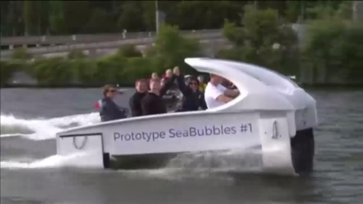 París empleará estos innovadores taxis acuáticos a partir de 2018.