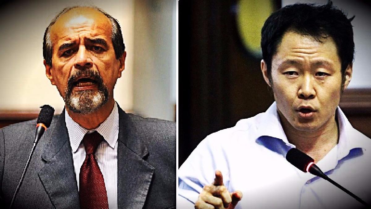 El parlamentario aprista criticó al menor de los Fujimori por proponer aplazar el diálogo.