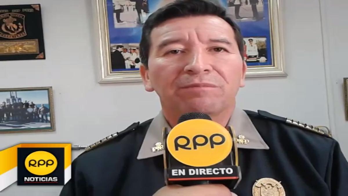 Director de la Escuela de Suboficiales de la Policía Nacional, Coronel PNP Javier Gallardo, se pronuncia sobre el caso del postulante