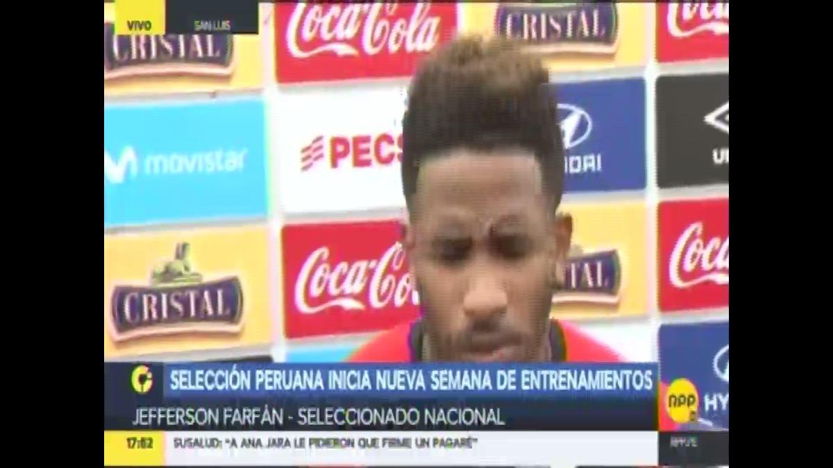 Jefferson Farfán jugó por última vez con la Selección Peruana el 23 de marzo del 2016.