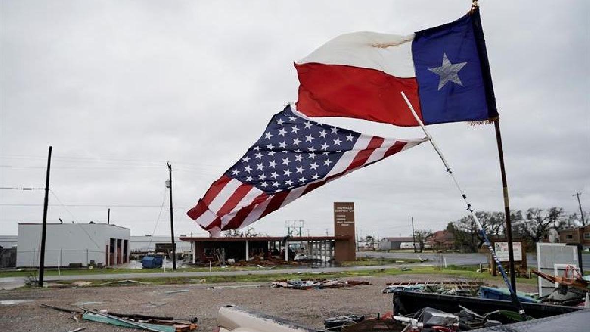 Harvey tocó tierra en la noche del pasado viernes en Rockport, cerca de Corpus Christi, como un huracán de categoría 4 en la escala de intensidad de Saffir-Simpson, de un máximo de 5.