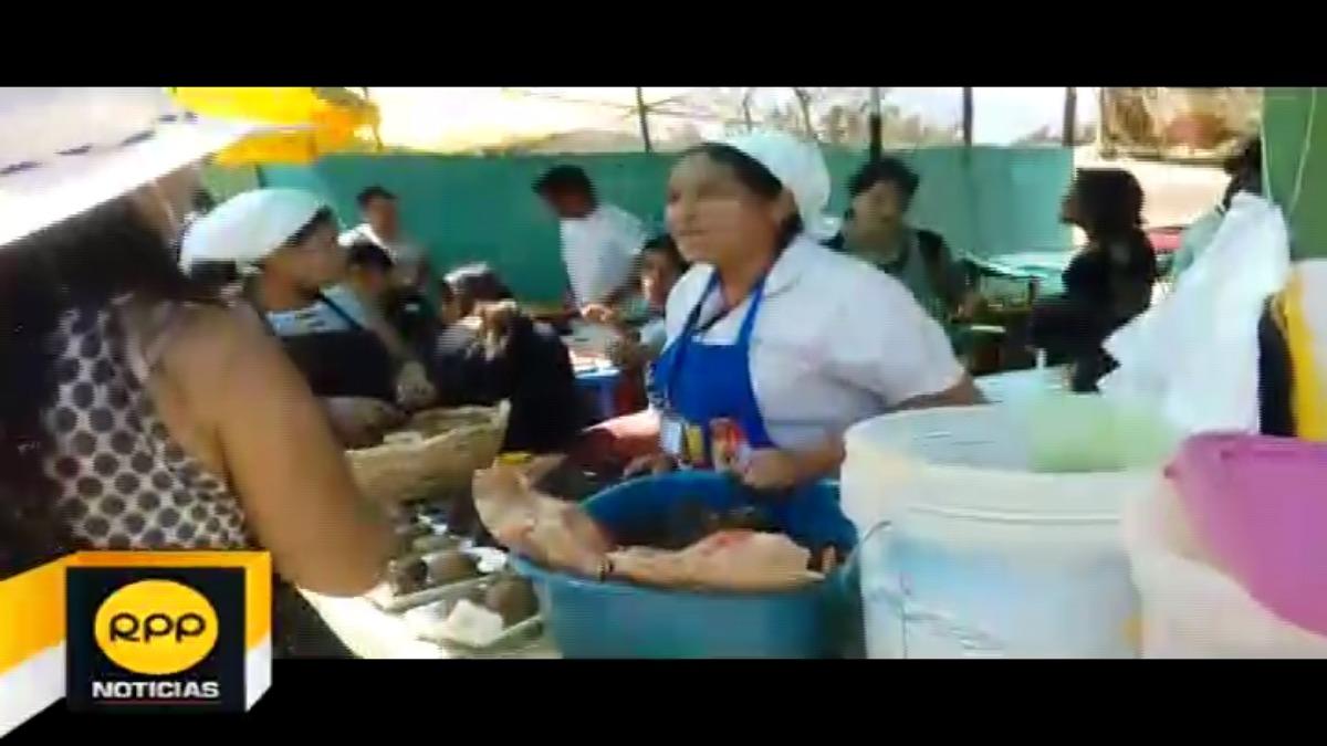 El festival de la pachamanca en Huánuco.