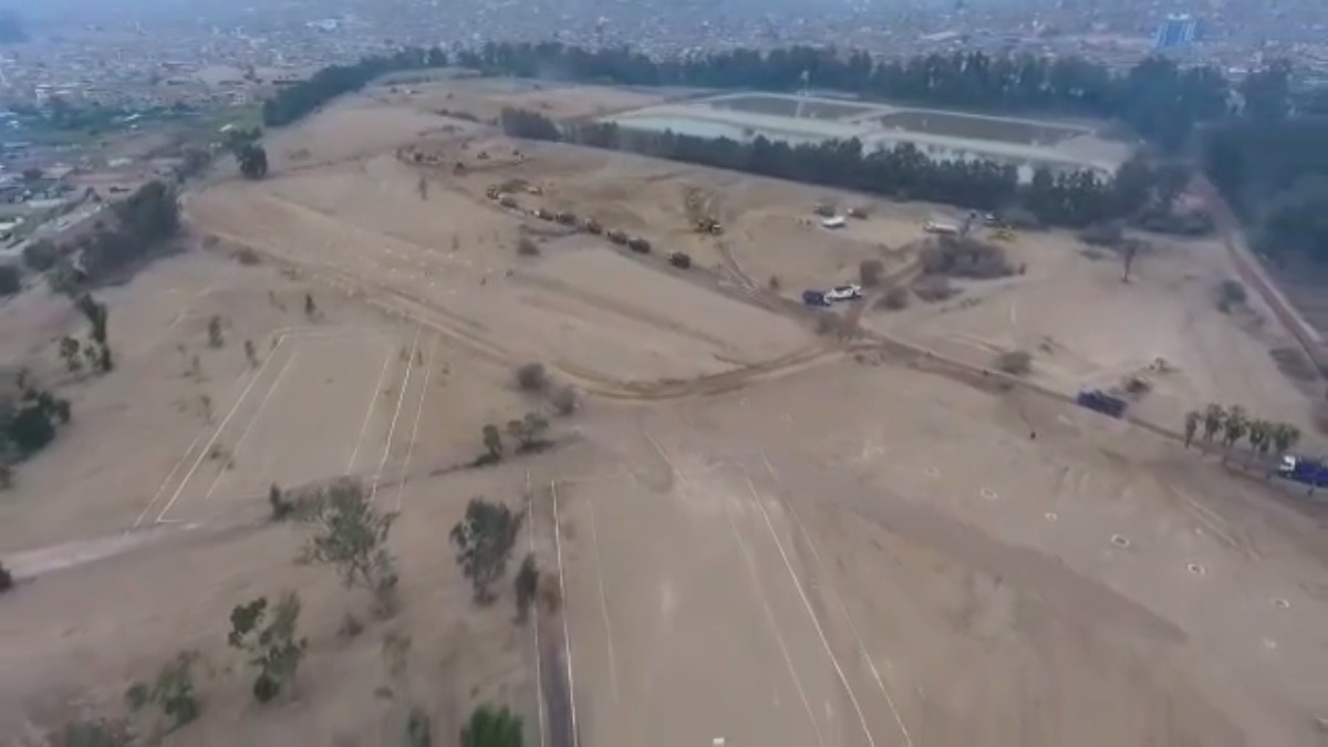 Los avances de la Villa Deportiva para los Juegos Panamericanos 2019.