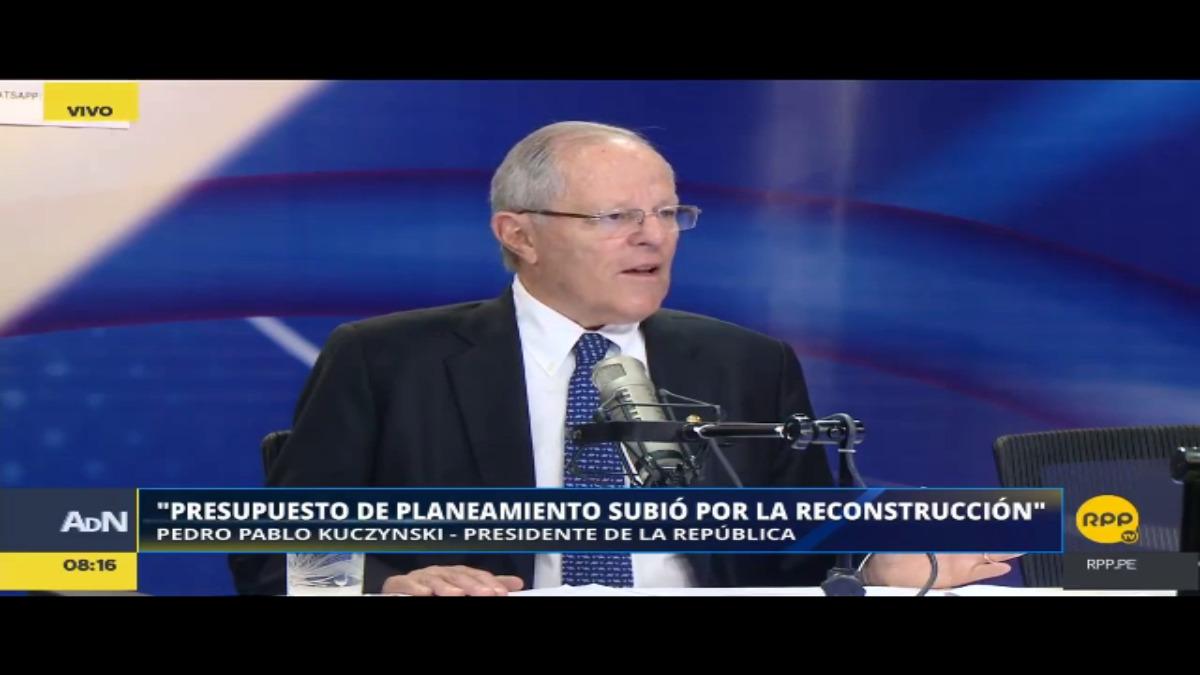El presidente Kuczynski dijo el viernes pasado en RPP que el Gobierno no iba a tocar el Fondo de Estabilizacíón Fiscal.