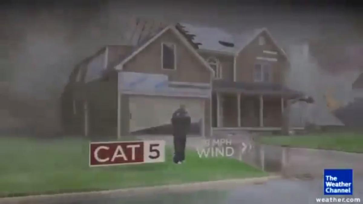 El huracán Irma llegará a los Estados Unidos el fin de semana.