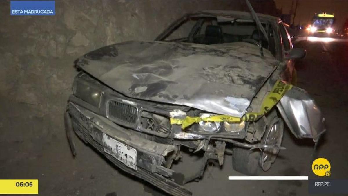 El accidente ocurrió en el kilómetro 22 de la carretera Lima-Canta.