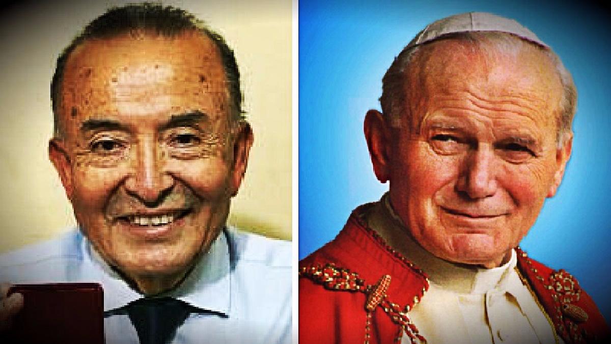 El conductor que trasladó al papa en Arequipa, Piura  y Villa El Salvador dijo que el papa le bendijo seis veces y le realizó