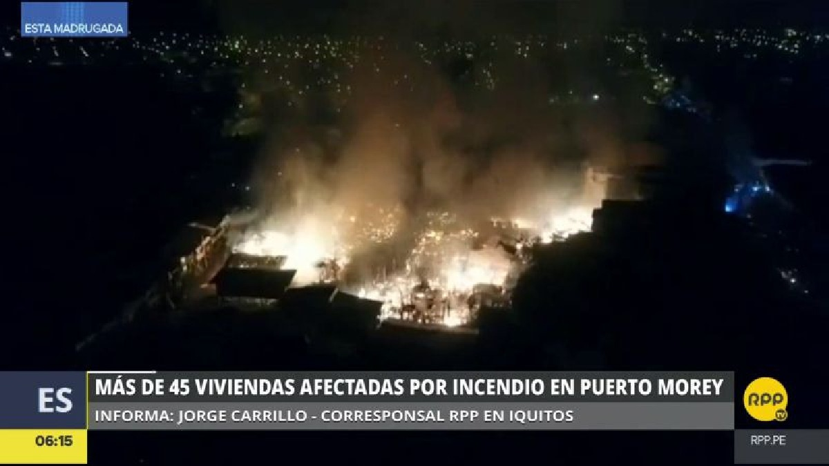 Un cortocircuito habría causado este incendio, pero de momento todo está en investigación.