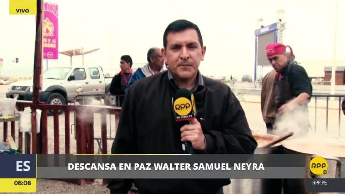 Walter Samuel Neyra estuvo alejado del trabajo por varios meses debido a la enfermedad que lo aquejaba.